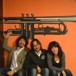Con Francesco Lupi e Stefania Polletin